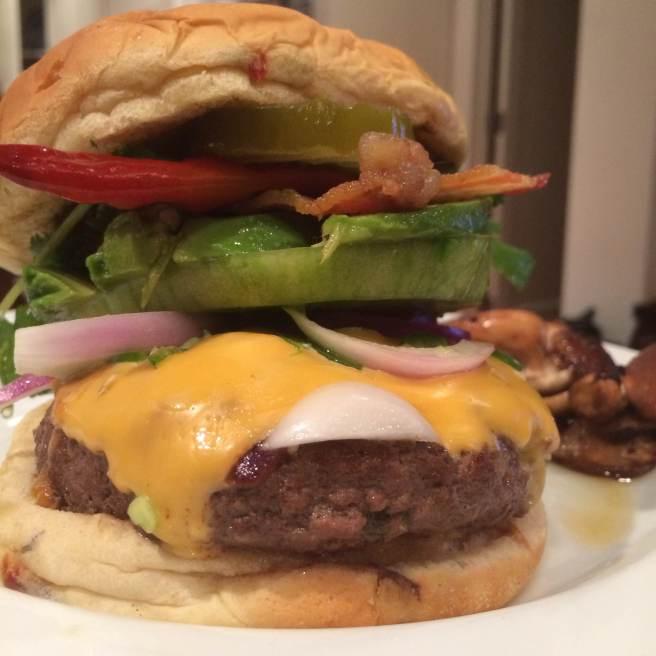 The Chandrasoma Burger